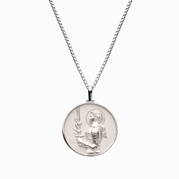 Joan of Arc Necklace-Necklaces-Awe Inspired