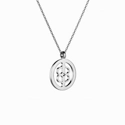 SIGNATURE MEDALLION (20MM)-Necklaces-Awe Inspired