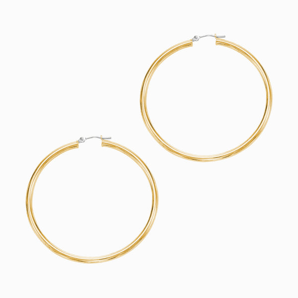 60MM Hoop Earrings-Earrings-Awe Inspired