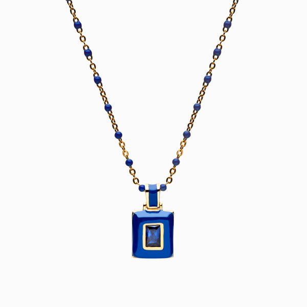 Indigo Aura Necklace-Necklaces-Awe Inspired