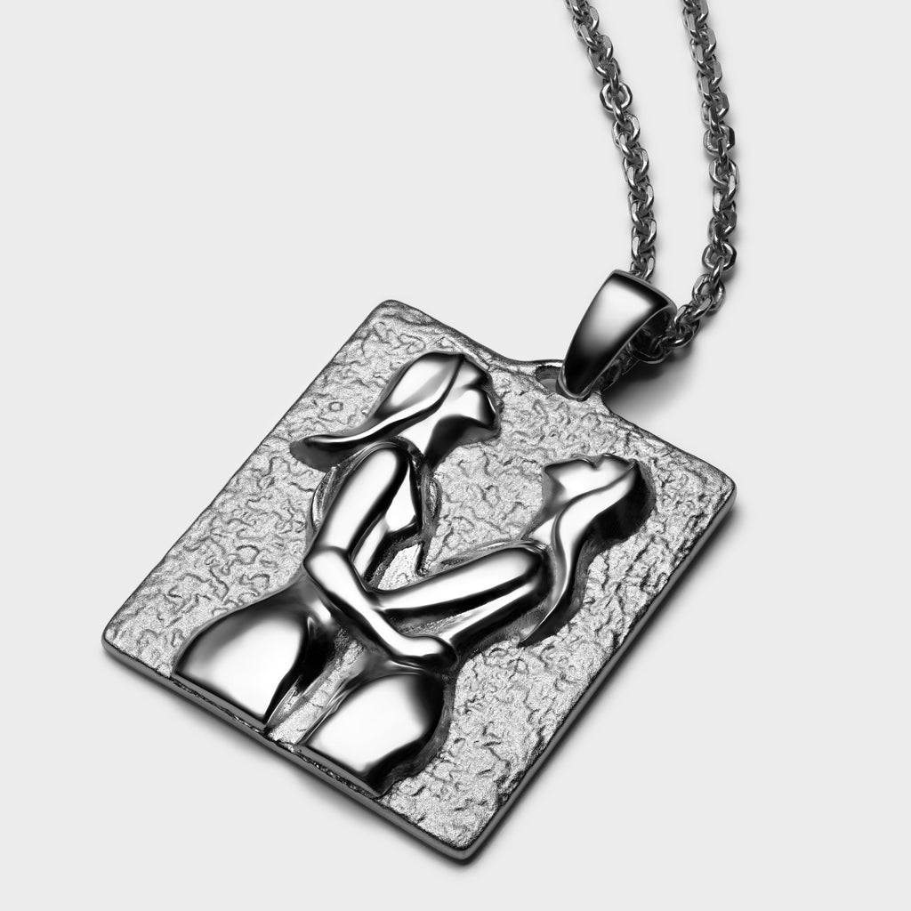 "La Dyade - ""The Dyad""-Necklaces-Awe Inspired"