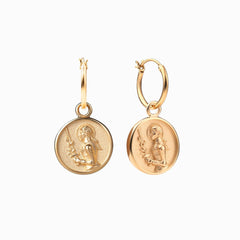 Joan of Arc Earring-Earrings-Awe Inspired