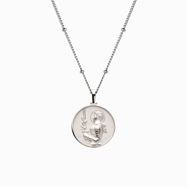 Mini Joan of Arc Necklace-Necklaces-Awe Inspired