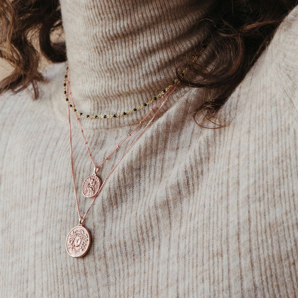 Medusa Necklace-Necklaces-Awe Inspired
