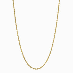 Rope Chain Necklace - 14k Yellow Gold Vermeil-Necklaces-Awe Inspired
