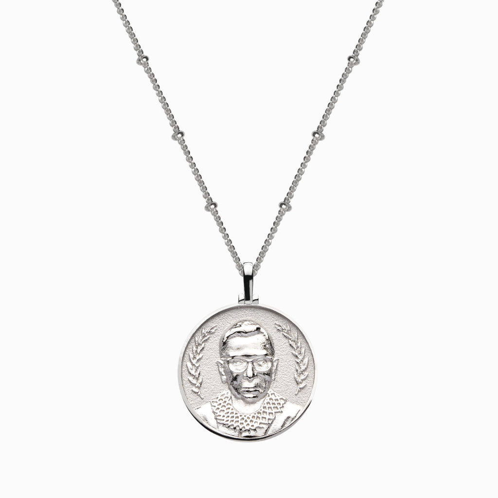Ruth Bader Ginsburg Necklace-Necklaces-Awe Inspired