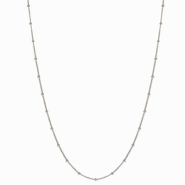 Saturn Chain - Sterling Silver-Necklaces-Awe Inspired