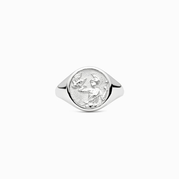 Athena Signet Ring-Rings-Awe Inspired