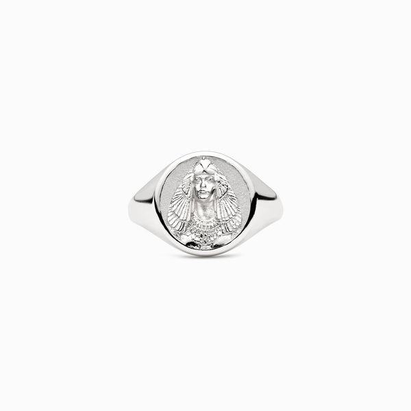 Cleopatra Signet Ring-Rings-Awe Inspired
