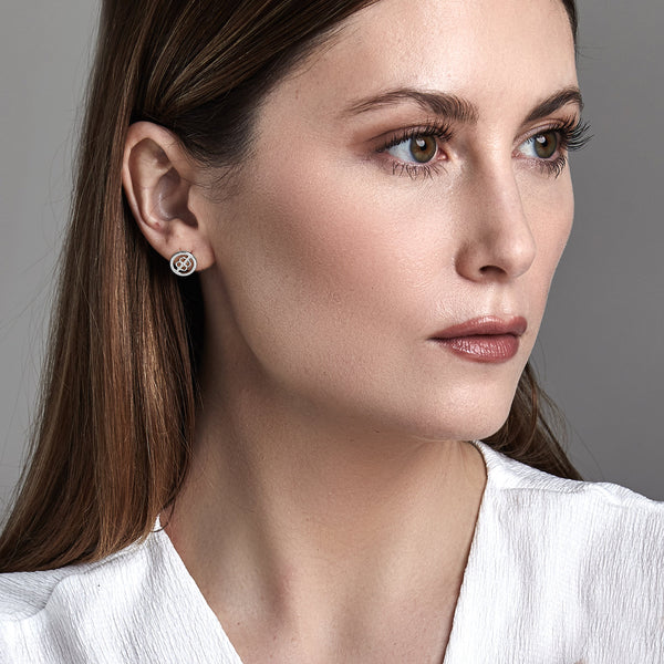 Mini Diamond Studs (10MM)-Earrings-Awe Inspired
