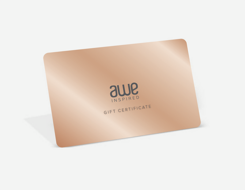 Awe E-Gift Certificate-Gift Card-Awe Inspired