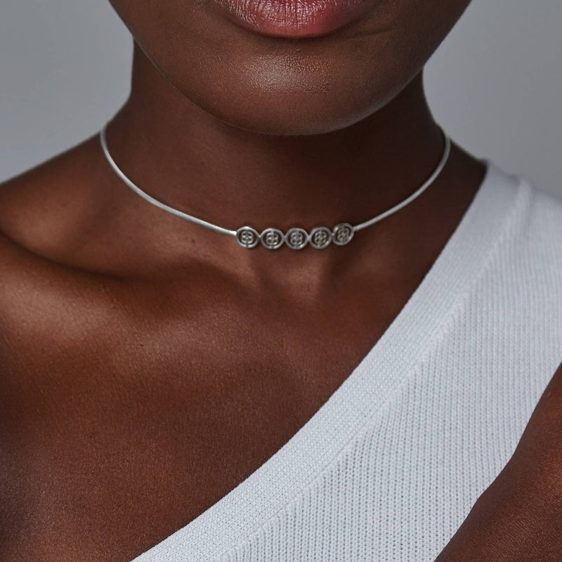 Serenity Choker-Necklaces-Awe Inspired