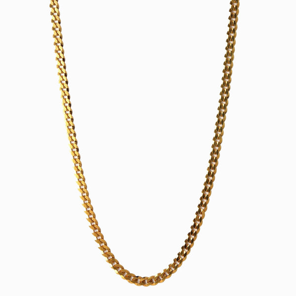 Curb Chain Necklace-Necklaces-Awe Inspired