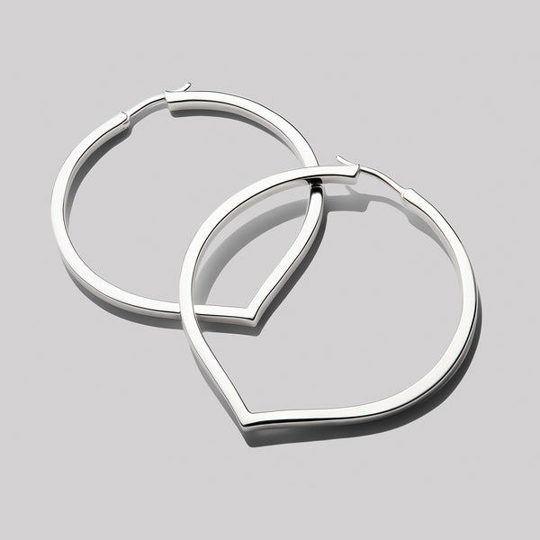 Large Pointed Hoop-Earrings-Awe Inspired