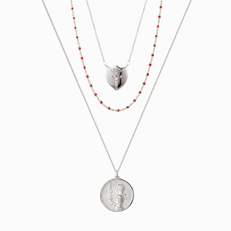 The Joan of Arc Set-Necklaces-Awe Inspired