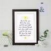 Pops Moon and Sun Poem Print