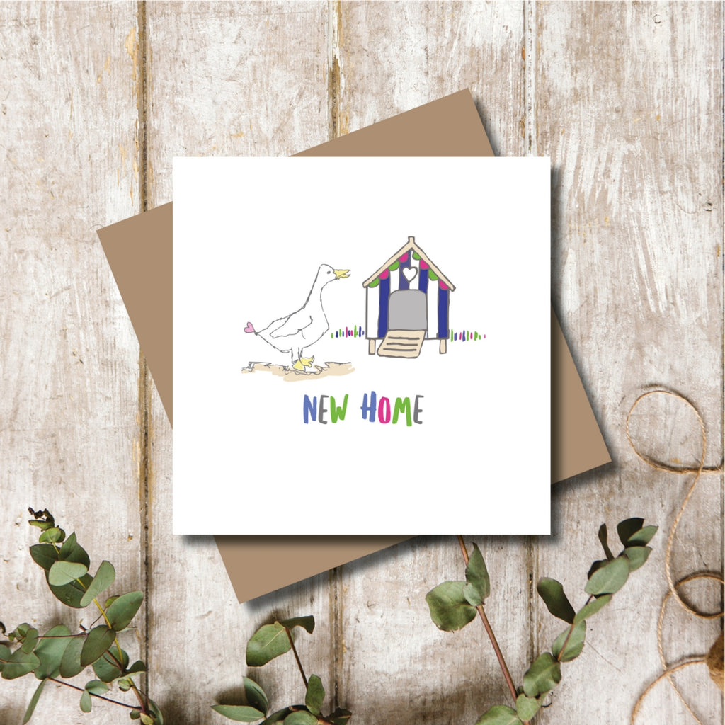 Quacking New Home Greeting Card
