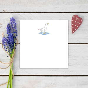 Maggie Puddle Duck Greeting Card
