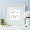 Duck Family Framed Print