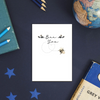 Bee You Rose Gold Foil Greeting Card