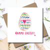 Easter Egg Hunt Wishes Greeting Card