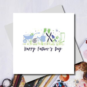 Dad's Father's Day Gardening Kit Greeting Card