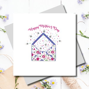 Buzzy Bee Love Envelope Mother's Day Greeting Card