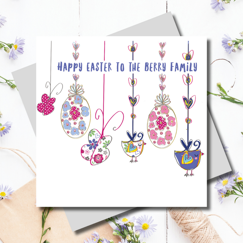 Easter Bunting Wishes