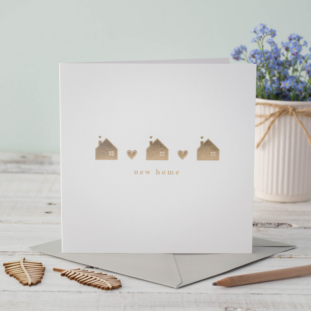 New Home Foiled Greeting Card