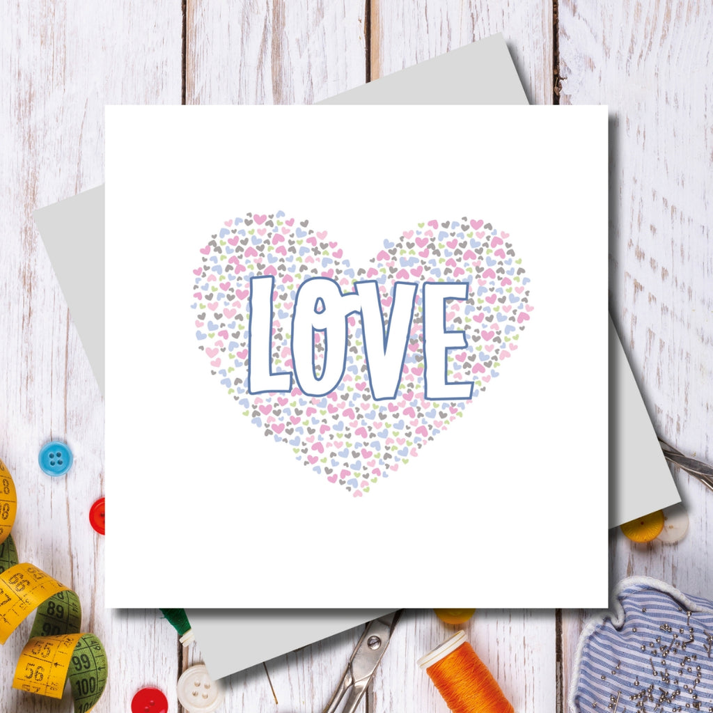 Bowden LOVE Greeting Card