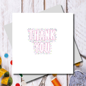 Bowden Thank You Greeting Card