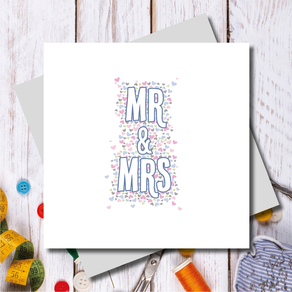 Bowden Mr and Mrs Wedding Greeting Card