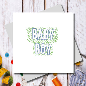 Bowden Baby Boy Greeting Card