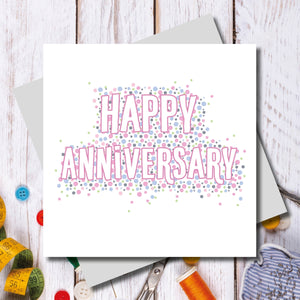 Bowden Happy Anniversary Greeting Card