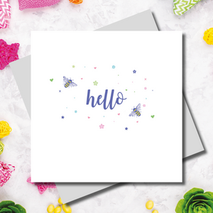 Gracie Hello Greeting Card