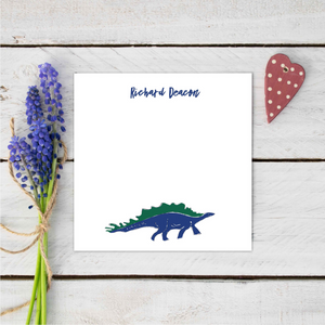 Personalised Roarsome Dinosaur Stationery Set