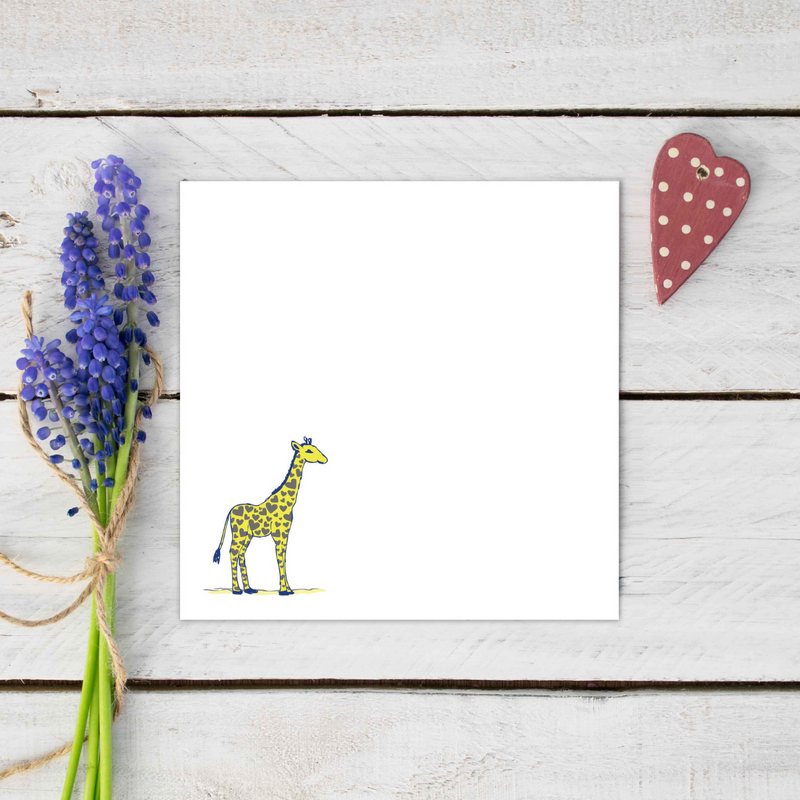 Jude The Giraffe Stationery Set