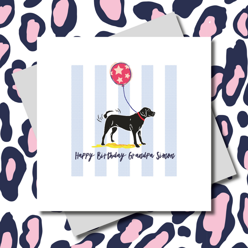 Black Labrador Birthday