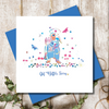 Get Better Dotty Dachshund  Greeting Card
