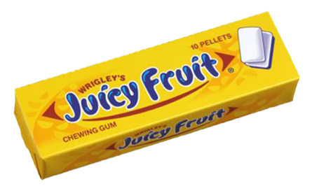 Gum Juicy Fruit 14g X 30