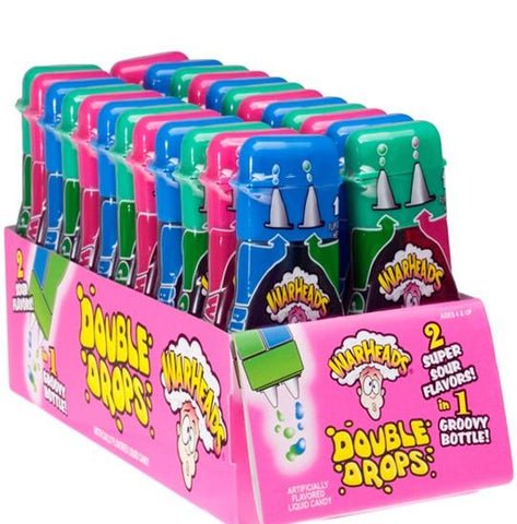 Warheads Double Drops 30ML X24