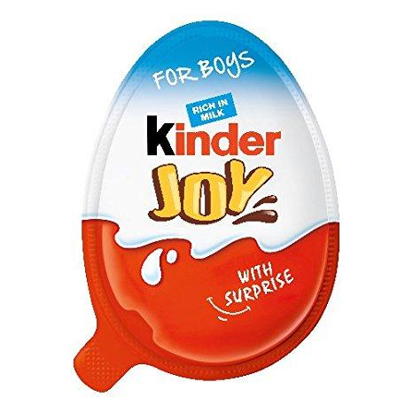 Novelty Kinder Joy For Boys 20g x 24