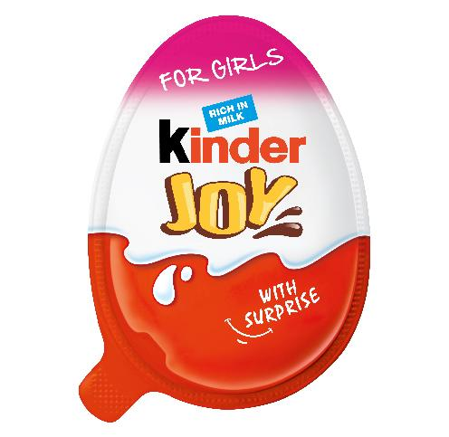 Novelty Kinder Joy For Girls 20g x 16