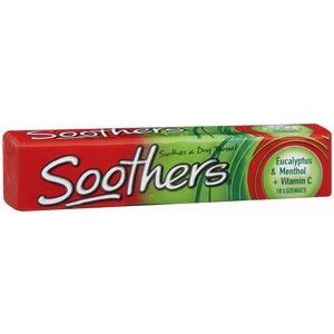 Chemist Soothers Eucalyptus & Menthol 10's X 36