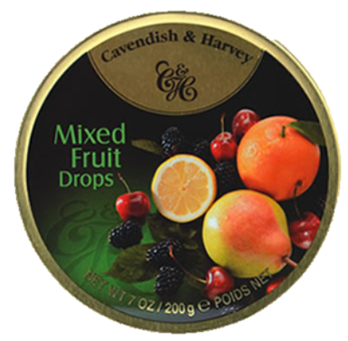 C&H Mixed Fruit Drops 200G X 10