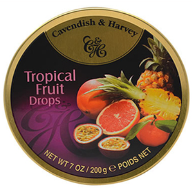 C&H Tropical Fruit Drops 200G X10 - nutsandsweets.com.au