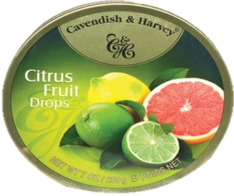 C&H Citrus fruit drops 200gx10