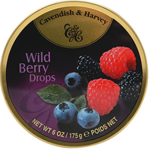 C&H Wild Berry Drops 200G X 10 - nutsandsweets.com.au