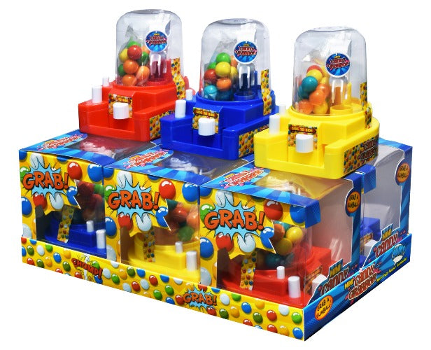 Candy Grabber Gumball Mini Toy 6xpack