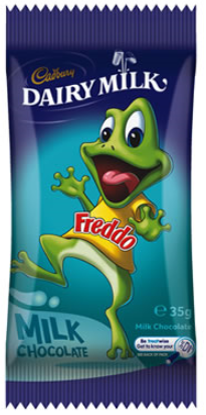 CHOCOLATE Freddo Milk Chocolate 35G X 36 - nutsandsweets.com.au